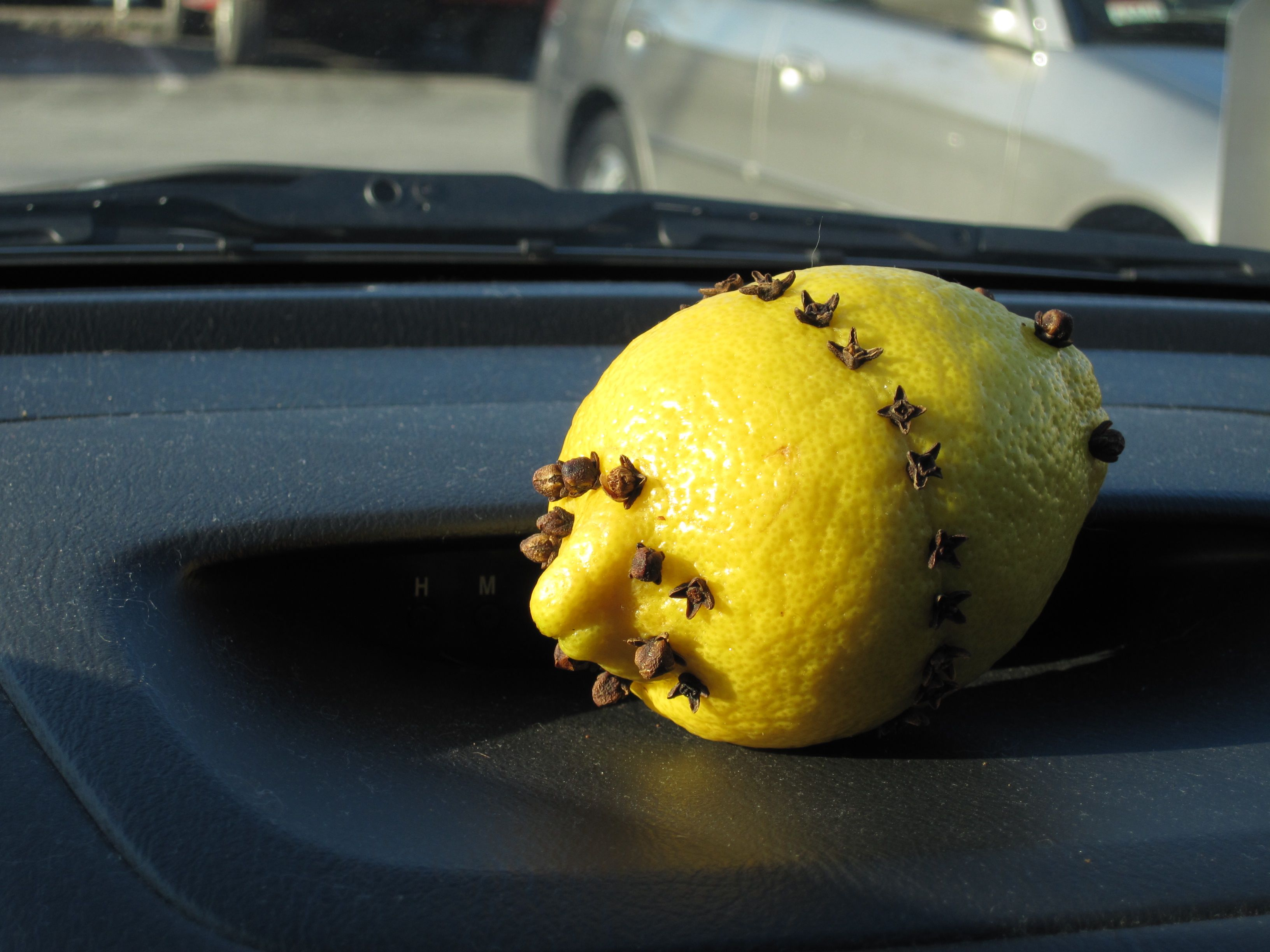 Lemon car freshener