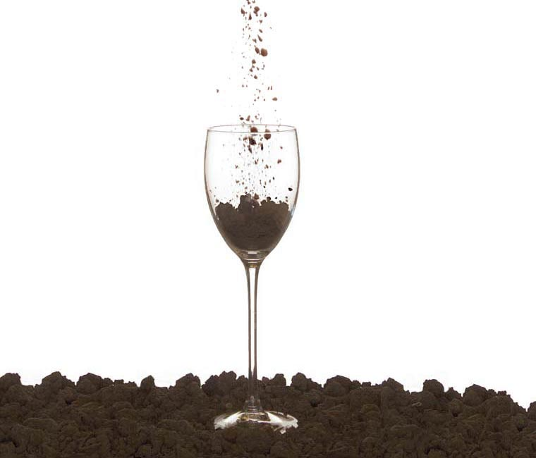 Taste of place dirt goblet