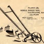 planet jr wheel hoe 1898