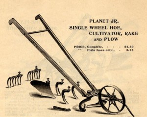 planet jr wheel hoe 1898